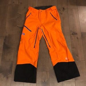 North face ski pants - worn once!